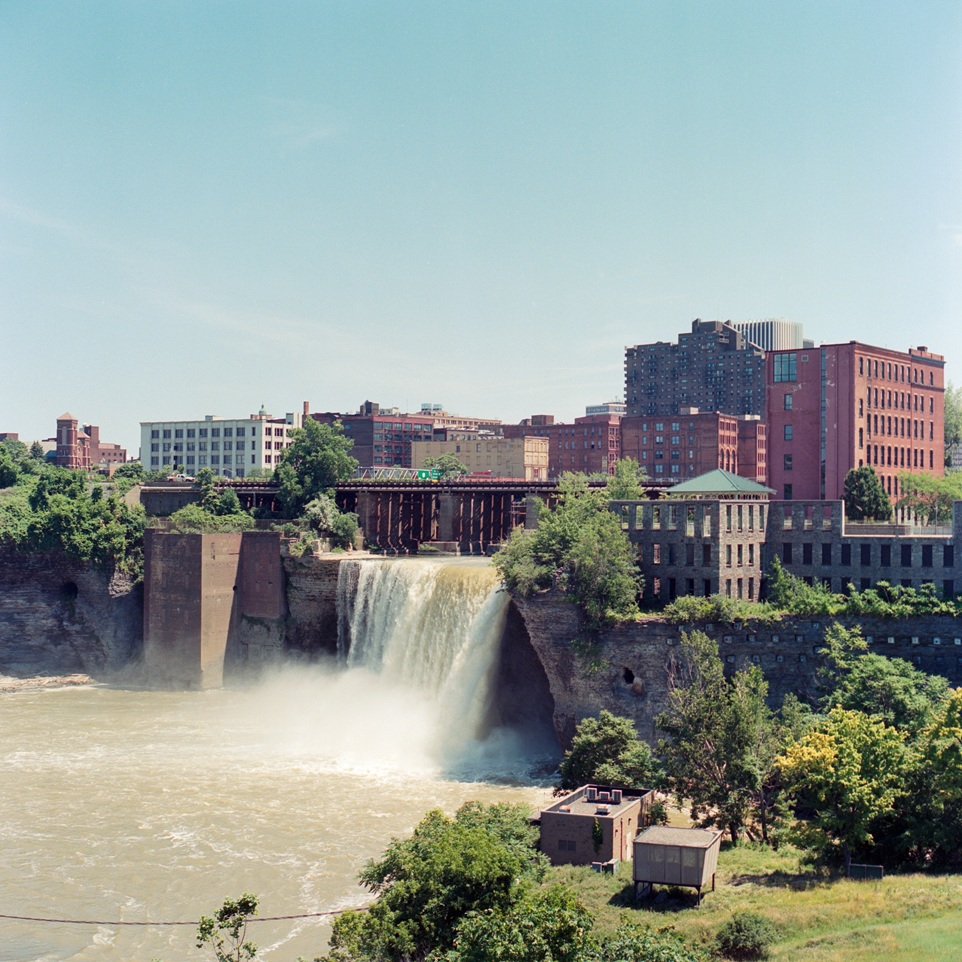 Genesee falls in Rochester New York