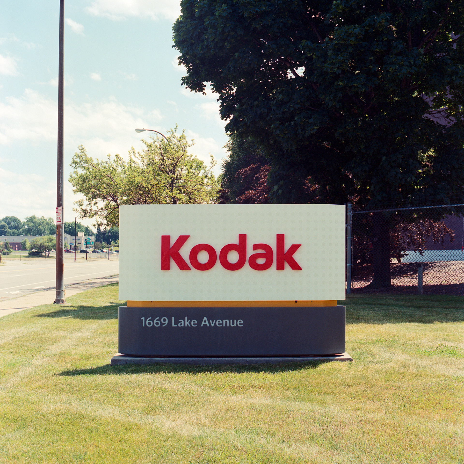 Kodak sign at the headquarters