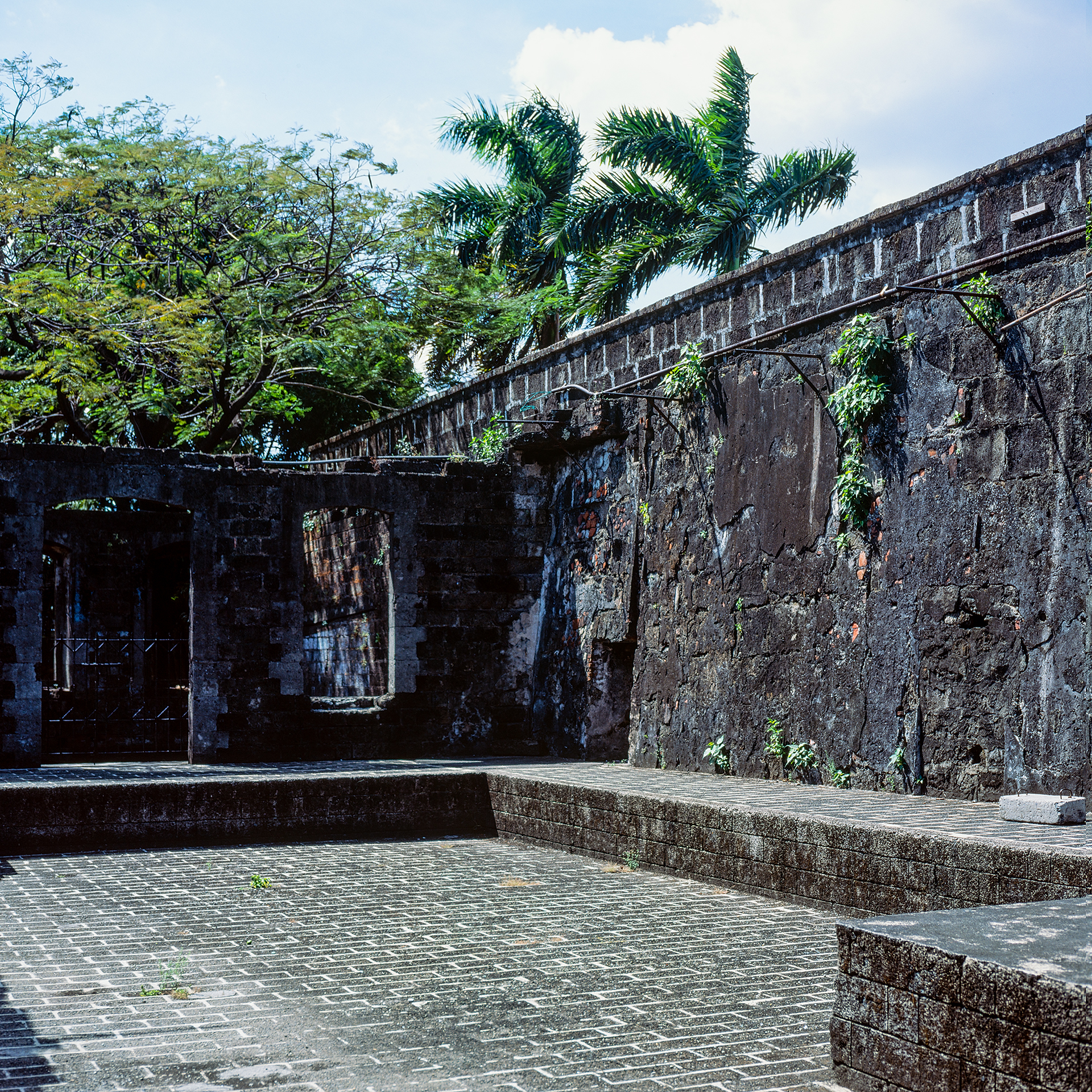 Near the cell of Jose Rizal at Fort Santiago