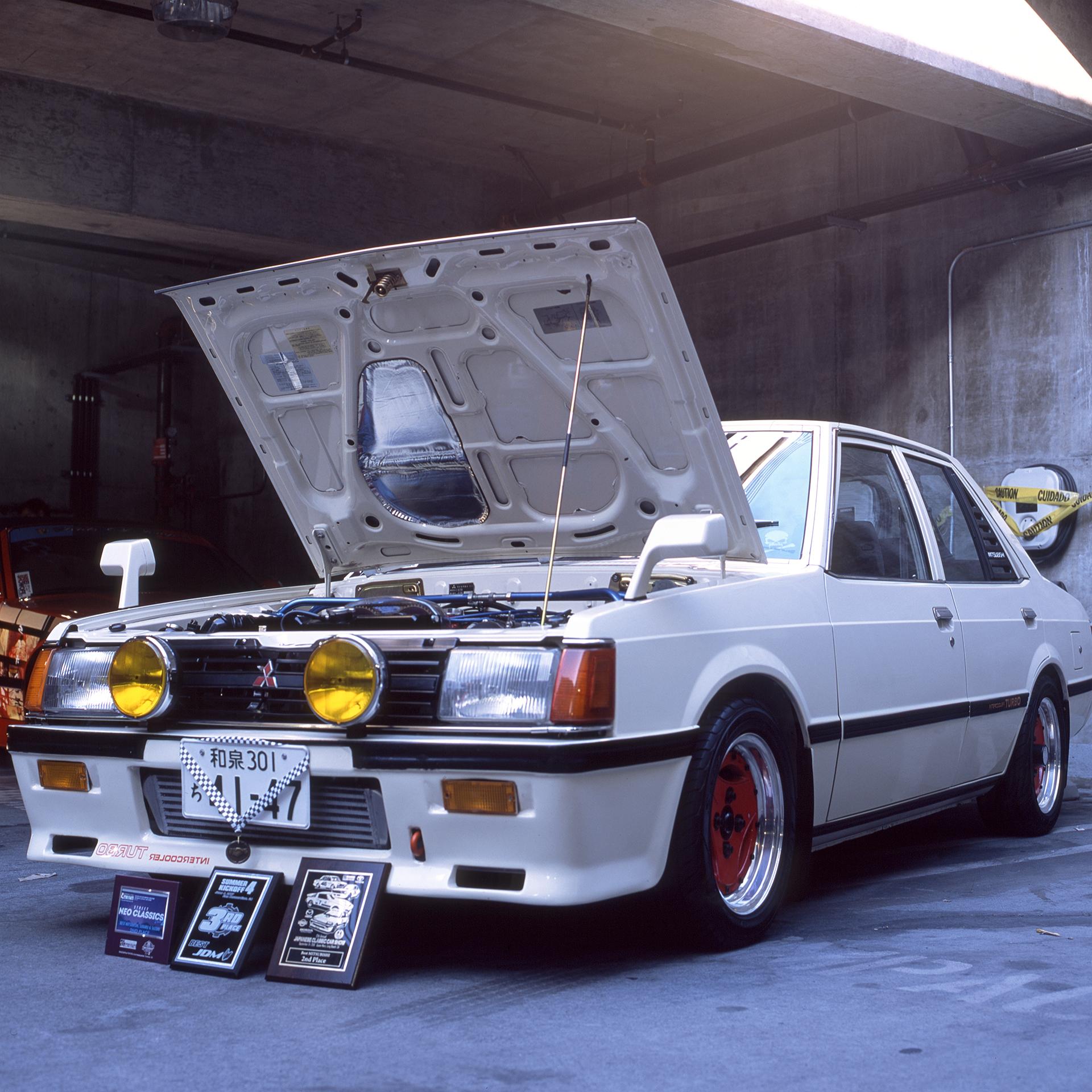 Classic '80's Mitsubishi Lancer Turbo