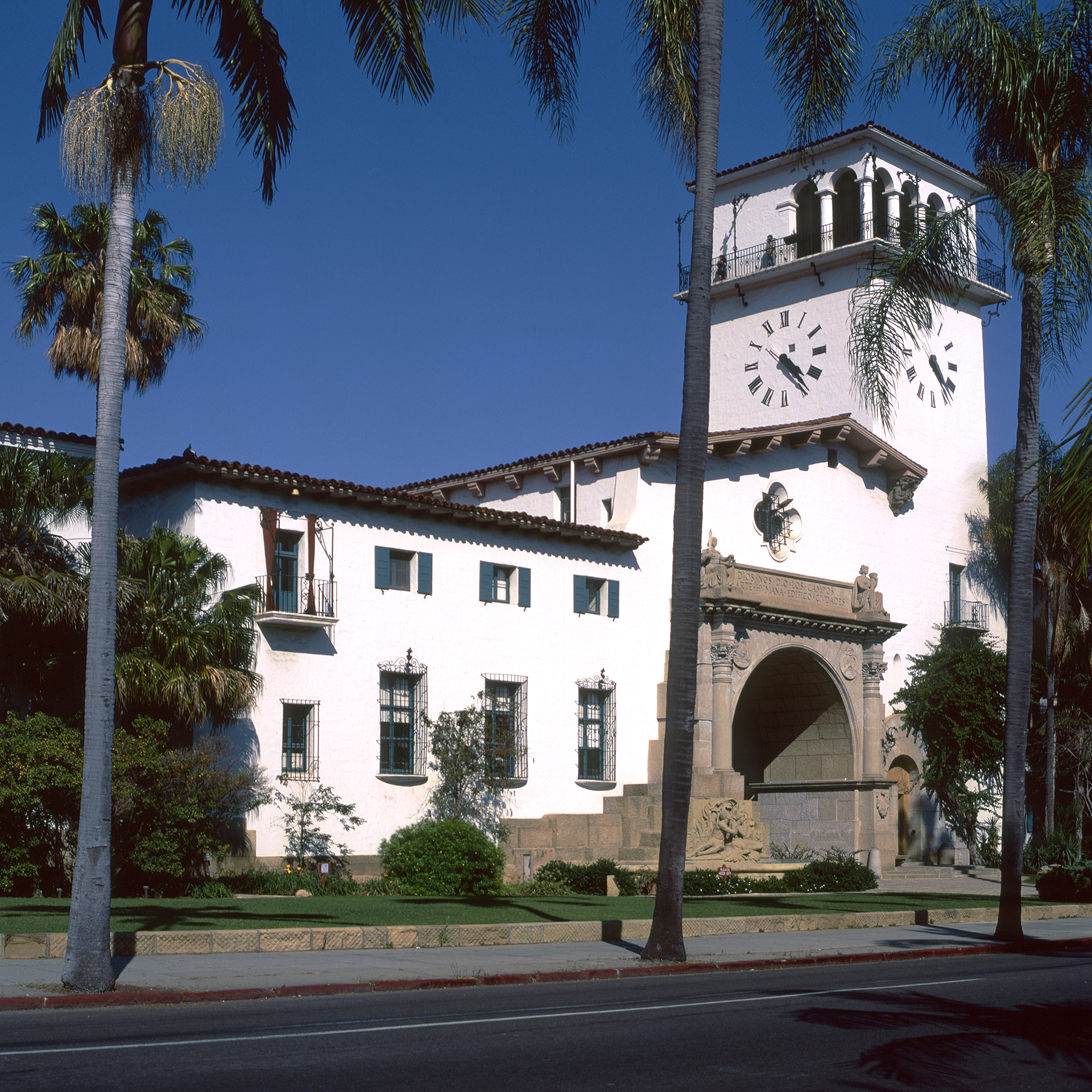 Possibly Santa Barbara Town Hall